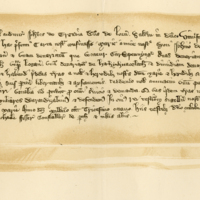 Charter by John Glengyll [of Argyll, lord of Lorn] to Mary, [his aunt], wife of John of Stirling, of the lands of Rathoran, & c., 1338