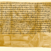 Deed of Resignation, John of Pencateland to Herbert Maxwell, of the lands of Pencateland, dated 18th May 1276