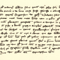 Letters of Attorney by Gilbert, son of Sir John, son of Sir Lachlan, to John Mercer, burgess of Perth, 1st March 1373