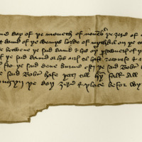 Agreement between Robert Livingstone of Drumry and David Wemyss, respecting the lands of Wemyss, 19th November 1428