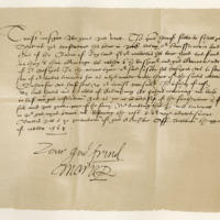 Letter by Mary, Queen of Scots, in reference to the sending of commissioners to Queen Elizabeth. Bolton, 24th October 1568