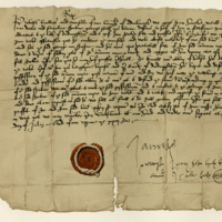 Letter by King James V to the Provost and Bailies of Edinburgh, for the leasing of the Common Myre. Falkland, 11th July 1536