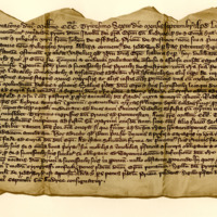 Agreement between James, Bishop of St Andrews, and John of Eskdale, prior of Restinot, for a lease to the latter of the lands of Rostcolby, 6th April 1336