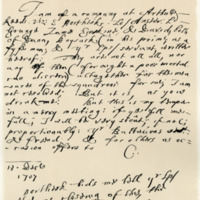 Letter by George, Earl of Cromartie, to John, Earl of Mar, 13th December 1707