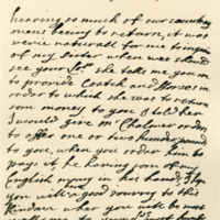 Letter by Anne, Duchess of Buccleuch and Monmouth, to George, Earl of Cromartie, 16th February 1703