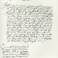 Letter by King Charles I to the Privy Council, in favour of Lord Melville. Bagshot, 17th August 1627