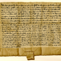Certification by John, Prior of St Andrews, of letters by William of Lamberton, 12th May 1323