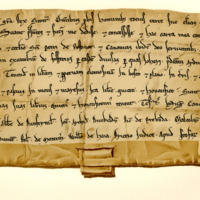 Charter by King William the Lion to the Priory of Restinot, of the lands of Ardneguere, 1165-1189