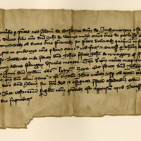 Lease by Alan of Erskine, of Inchmartin, to Sir John of Wemyss, of the lands of Petlassie, 15th December 1386