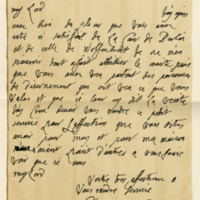Letter by Sophia, Electress of Hanover, to William, Marquis of Annandale, 19th November 1712