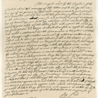 Letter by Rev. William Carstairs to George, Viscount Tarbet, 8th October 1684